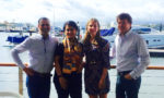 Left to right - Gautam Lulla (President Travel Tripper), Soma Bruce (VP Business Dev AsPac Travel Tripper), Julie McKinnon (Director, Adapt Marketing), Jonathan Wooller (Managing Partner, Alpha Hotels)